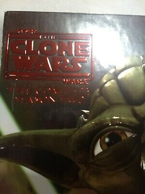Star Wars: The Clone Wars - The Complete Season Two (DVD, 2011, 4-Disc Set)