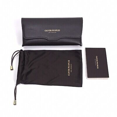 OLIVER PEOPLES Authentic Sunglasses Eyeglasses Case & Pouch