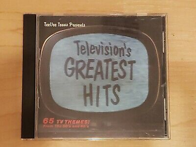 Television's Greatest Hits, Vol. 1 by Various Artists (CD, Oct-1990, TVT (Dist.…