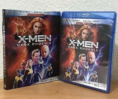 X-MEN: DARK PHOENIX (Blu-Ray + Digital, 2019) with SLIPCOVER! MARVEL ~ REGION A