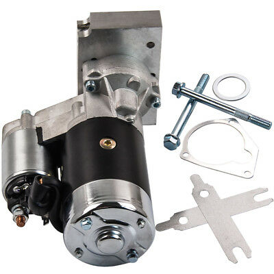 For Chevy SBC Best Mini Starter High Torque 3HP 153 168 Tooth 350 400 Big Block