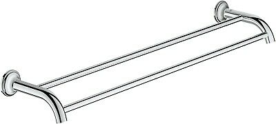 GROHE 40654001 Essentials Auth Double Towl Bar 582 mm P