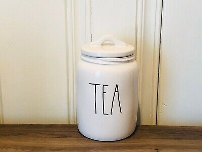 Rae Dunn Artisan Collection By Magenta TEA Farmhouse Baby Small Canister VHTF