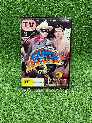 The Lone Ranger Volume One (DVD, Like New)