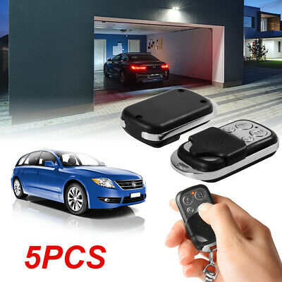 5pcs Universal Garage Door Fixed Code Replacement Remote Control Key Fob HS761