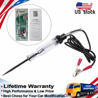 CarBole Circuit Tester for 6V / 12V DC Systems Long Probe Continuity Test US