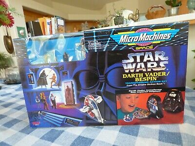 Micro Machines Star Wars Darth Vader / Bespin Transforming Action Set 1994 Offer