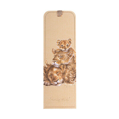 Wrendale Lions Bookmark