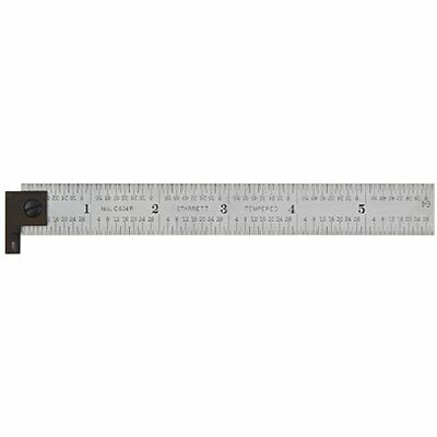 "CH604R-6 2-Sided Steel Ruler With Hook Construction Rulers Industrial "" Tools"