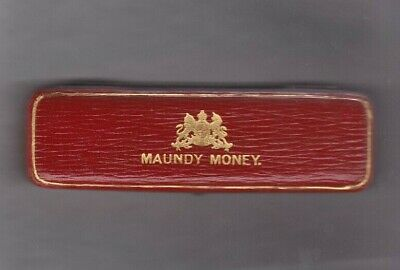 Boxed 1905 Edward Vii Maundy Set Of Four Coins In Near Mint Condition.