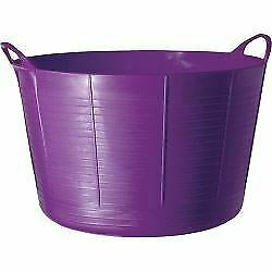 Gorilla TUB75PUR Tubtrugs Tub 75 Litre Extra Large-Purple, 75L