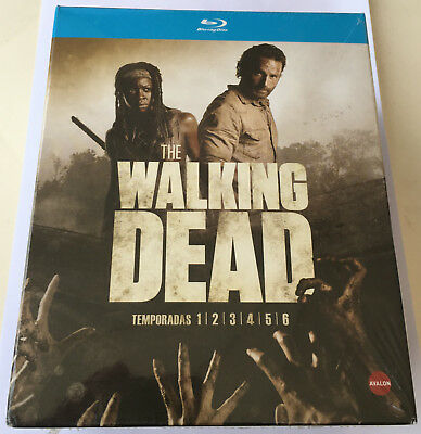 PACK WALKING DEAD TEMPORADAS 1-6 EN BLU RAY Nuevo precintado