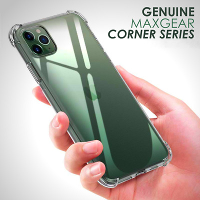 Case For iPhone 11 Pro Max Ultra Tough Clear Gel Cover Transparent Shockproof