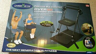 Chair Gym Total Body Workout As Seen On Tv Brand New