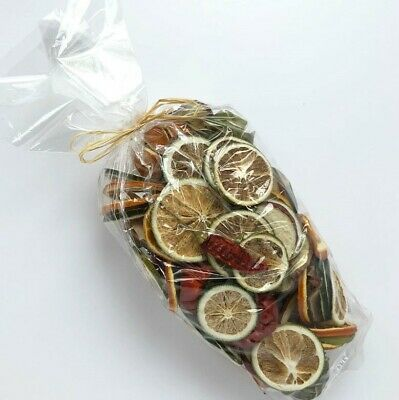 Dried Christmas Fruit Selection Oranges Limes - Craft Wreath Florist Decoration