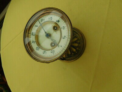 Antique French Chiming Clock Face and Movement