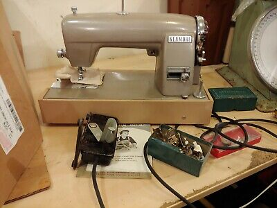 Vintage Sears Kenmore  Heavy Duty All-Metal Sewing Machine looks good with as