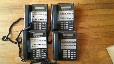 NEC DS1000 DS2000 Group Of 4 22 Button Display Phones Part# 80573