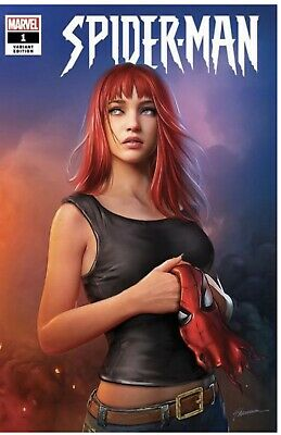 Amazing Spider-Man #1 Marvel 2019. Shannon Maer - Mary Jane Trade Dress Variant.