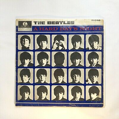 The Beatles - A Hard Days Night / 12inch Vintage Vinyl Record