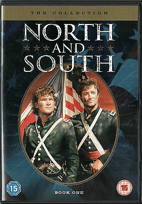 DVD Patrick Swayze NORD E SUD John Jakes prima serie NORTH AND SOUTH 1st season