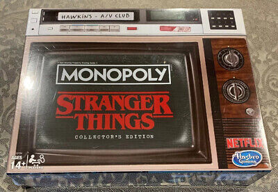 Monopoly Stranger Things Collectors Edition Board Game - IN HAND! FACTORY SEALED
