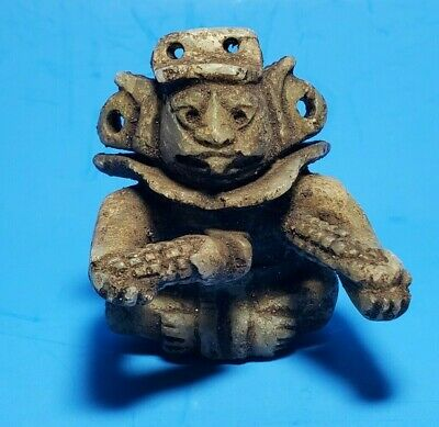 Pre-Columbian Zapotec Stone Warrior