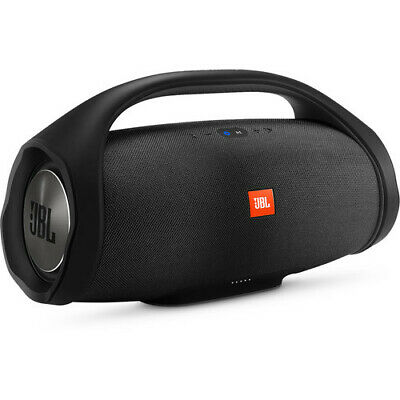 JBL BOOMBOX- Portable Bluetooth Waterproof Speaker- 24 Hours Play-(BLACK)- (NEW)