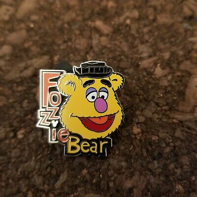 Disney Parks Hidden Mickey Pin The Muppets Fozzie Bear