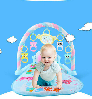 3 in 1 Baby Light Musical /Gym/Play Children mat Lay & Play Fitness Fun Piano us