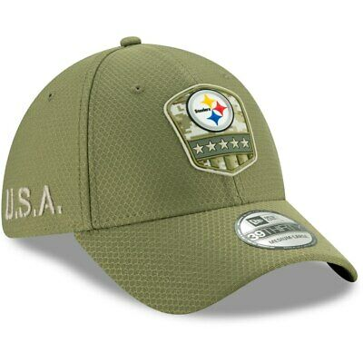 Pittsburgh Steelers Salute to Service New Era 39THIRTY NFL 2019 Sz M/L
