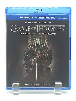 Game of Thrones: The Complete First Season (Blu-ray Disc, 2015, 5-Disc Set) HBO