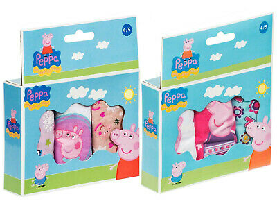 Peppa Pig Knickers Briefs Pants Underwear Set Multi Pack Childrens Size 6/8 Year