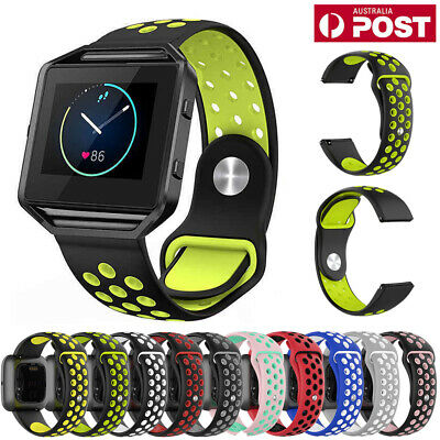 For Fitbit Blaze Replacement Wristband Silicone Watch Wrist Sports Band Strap