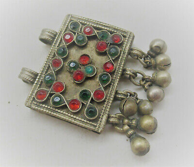 Lovely Late Medieval Islamic Ottomans Silver Pendant