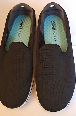 Details about Women's Skechers Aqua Blue Go Walk 3 GOGA Plus Shoes SZ 8.5 Excellent Condition