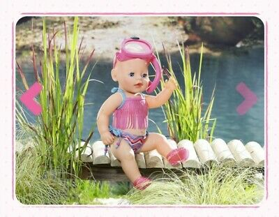 BABY BORN Doll Outfit Holiday Fun Snorkelling Outfit Baby Born Clothes Bnib