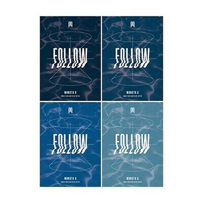 K-POP MONSTA X Album [FOLLOW - FIND YOU] Random Ver. CD+P.Book+P.Card+M.Poster