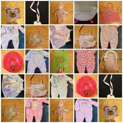 "Genuine Zapf Creation 18"" Baby Annabelle  Baby Born  Clothes and more"