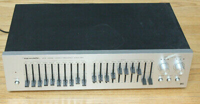 Vintage Realistic Equalizer 31-2000 Wide Range Stereo Frequency Equalizer