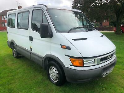 Iveco DAILY 29L12 SWB. 9 SEATED MINI BUS NO VAT FULL SERVICE HISTORY; NEW CLUTCH