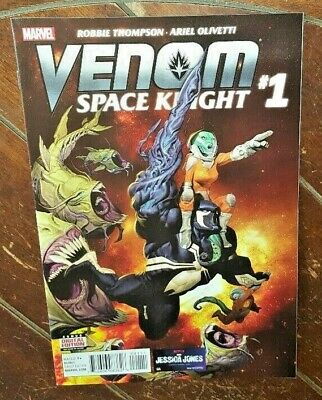 Venom Space Knight #1, (2016, Marvel): Robbie Thompson & Ariel Olivetti!