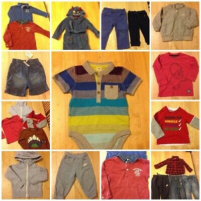Baby Boy Clothes 12 -18 months - Multi Listing - Build Your Own Bundle