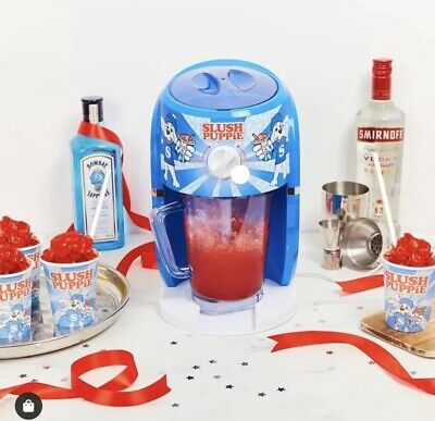 Slush Puppie Ice Shaver Slushie Machine Home Drink Maker Frozen Ice Slushy Puppy
