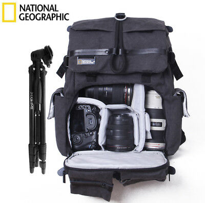 "NATIONAL GEOGRAPHIC NG W5070 DSLR Camera Backpack 15.4"" Laptop Bag"