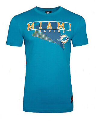 NFL Miami Dolphins Mens T Shirt ALL SIZES Longline Official Team Apparel Jersey