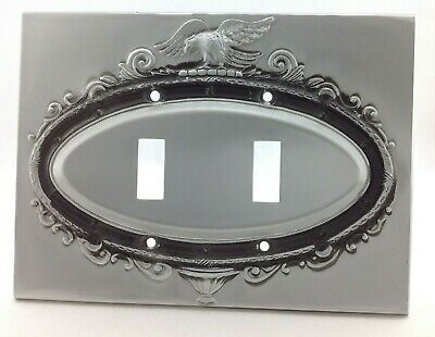 BrassSmith House - SP-2A - Pewter - Federal Eagle 2 Switch Cover