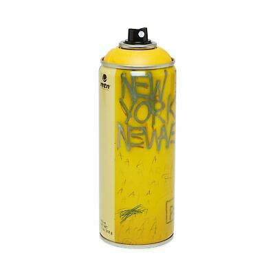 Montana Colors Jean-Michel Basquiat NY limited edition bombola spray paint can