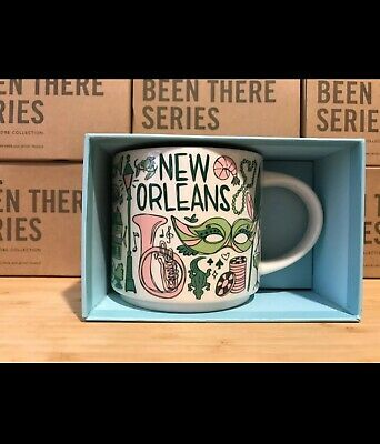"New Starbucks ""Been There Series"" New Orleans 14oz Mug. WITH BOX. Shipped USPS"