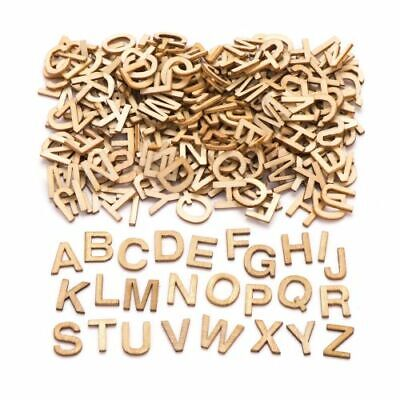 26 Wooden Craft Alphabet Uppercase Small Letters A-Z & School Educational